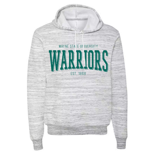 Wayne State Warriors Hoodie - Light Grey Marble