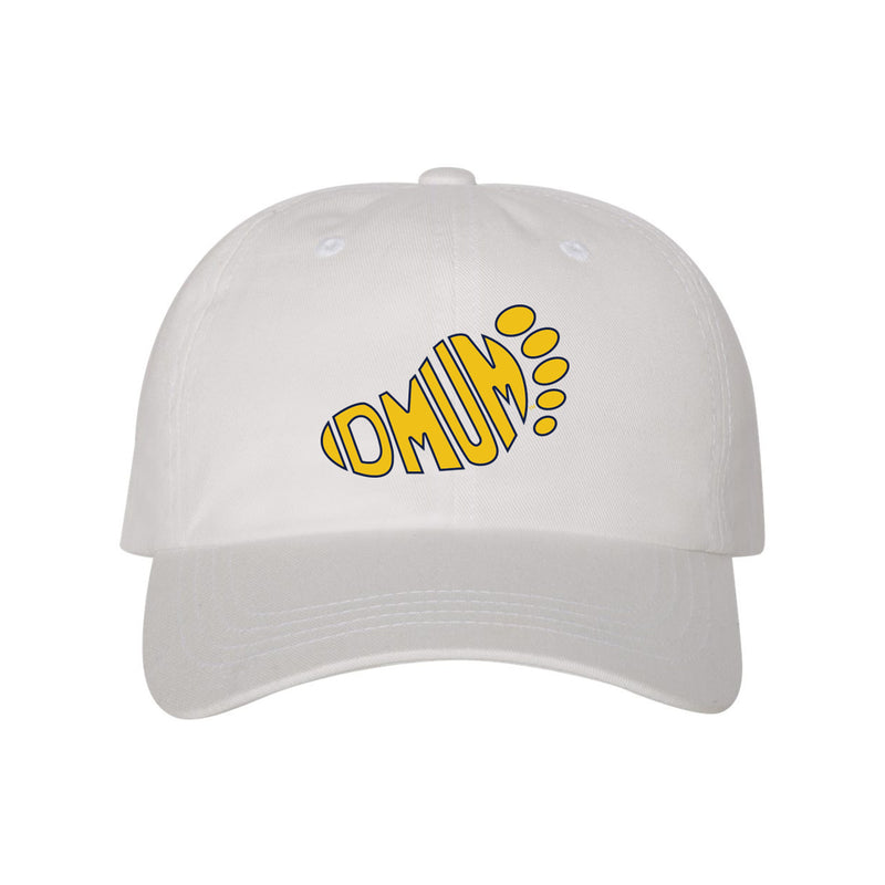 DMUM Dad Hat EMB - White