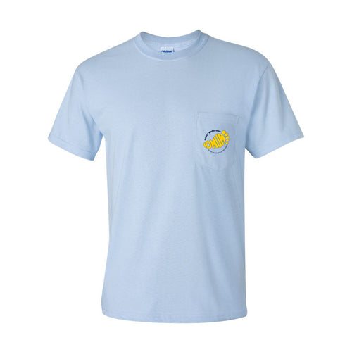 DMUM Pocket Tee - Light Blue