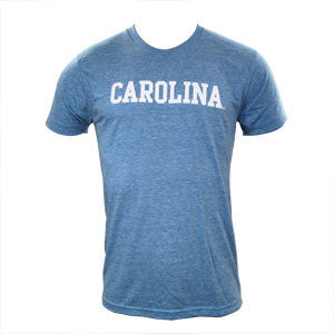 Block Carolina Triblend - Athletic Blue