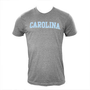 Block Carolina Triblend - Athletic Grey