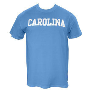 Carolina Short Sleeve Basic T - Carolina Blue