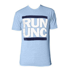 RUN UNC Triblend - Athletic Blue