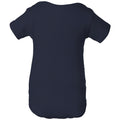 Central Oklahoma University Bronchos Basic Block Infant Creeper - Navy