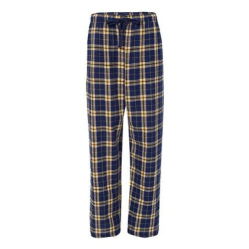 Navy/Gold Fleece Pants - Navy/Maize