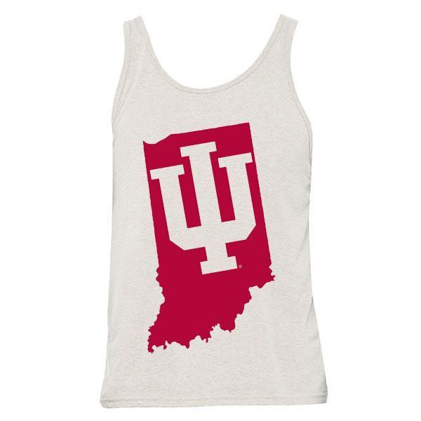 Indiana Tilted Trident Tank - Tri Oatmeal