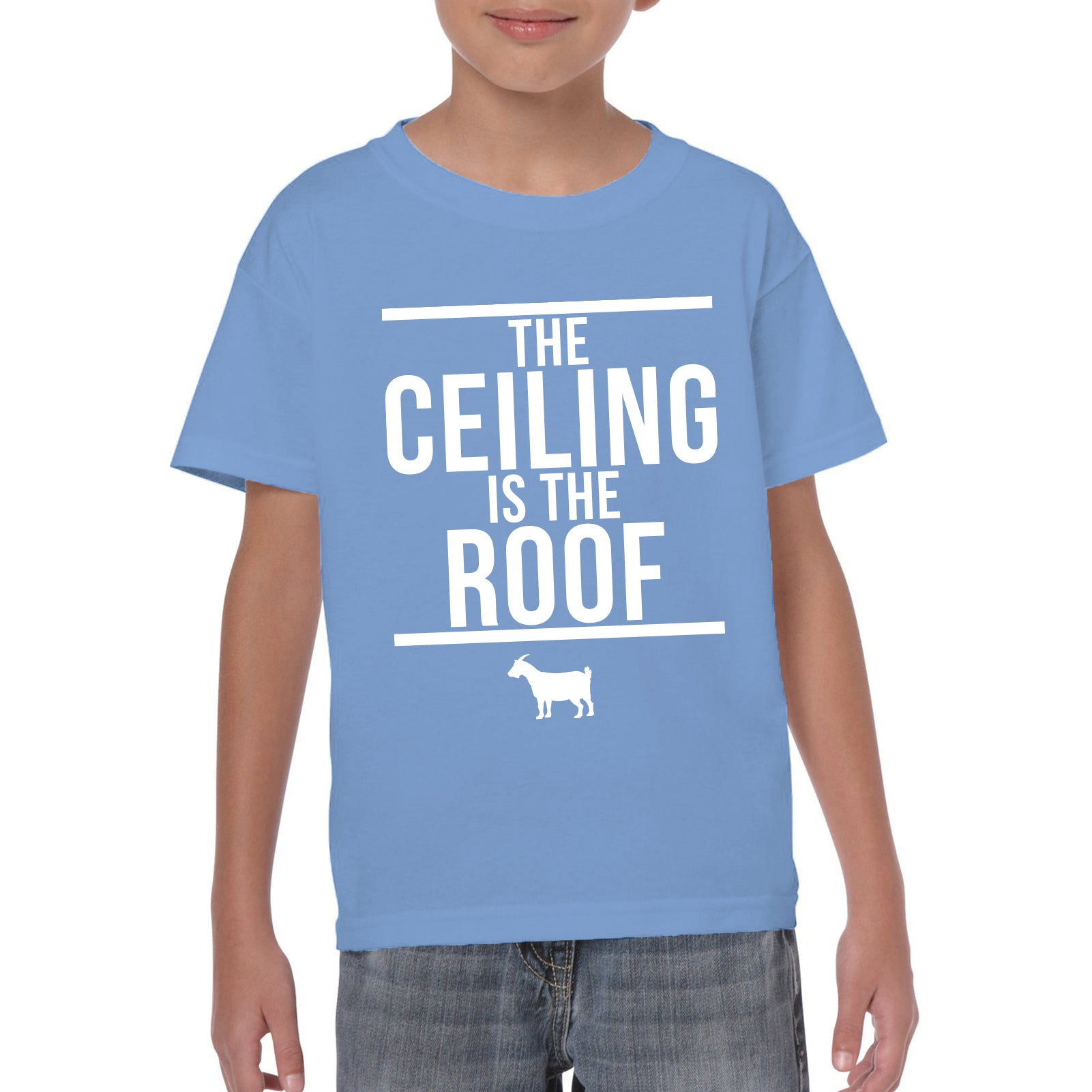 The Ceiling Is The Roof Youth - Carolina Blue - UGP