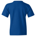 Hampton University Primary Logo Youth Short Sleeve T Shirt - Royal
