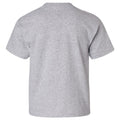 Incline Block Michigan Wolverines Basic Cotton Youth Short Sleeve T-Shirt - Sport Grey