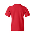 Bradley University Braves Arch Logo Basic Cotton Short Sleeve Youth T Shirt - Red