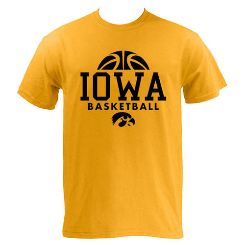 Iowa Bball Hype Tee - Gold