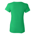 Norfolk State University Spartans Basic Block Womens Short Sleeve T Shirt - Irish Green