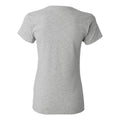 Michigan State University Spartans Monoscript Basketball Womens Short Sleeve T Shirt - Sport Grey