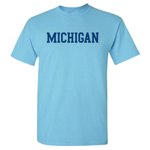 Block Michigan Basic Short Sleeve - Sky