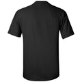 Purdue University Boilermakers Mascot Arch Logo Short Sleeve T Shirt - Black