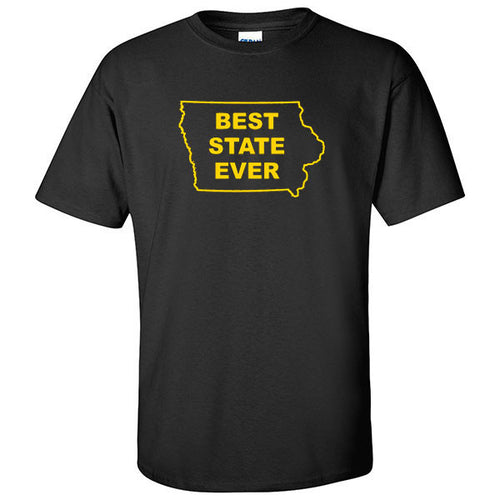 Best State Ever - Iowa - Black