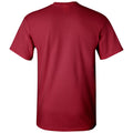 Indiana Arch Logo Football T Shirt - Cardinal