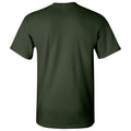 Baylor University Bears Arch Logo Law Basic Cotton Short Sleeve T Shirt - Forest