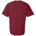 Aquinas College Saints Basic Block Basic Cotton Short Sleeve T Shirt - Garnet