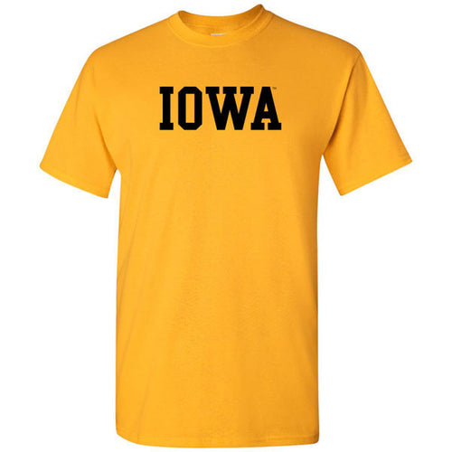 Block Iowa Basic - Gold