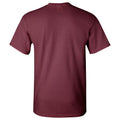 University of Chicago Maroons Basic Block Short Sleeve T Shirt - Maroon