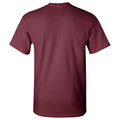 University of Chicago Maroons Arch Logo Basketball Short Sleeve T Shirt - Maroon