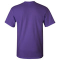 Lincoln Chicago Flag Glasses Short Sleeve T Shirt - Purple
