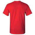 Monmouth College Fighting Scots Arch Logo Short Sleeve T Shirt - Red