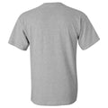University of Northern Iowa Panthers Basketball Sketch Basic Cotton Short Sleeve T Shirt - Sport Grey