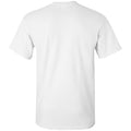 North Carolina State University Wolfpack Distressed Circle Logo Short Sleeve T Shirt - White