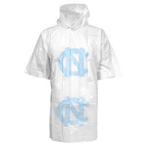 University of North Carolina Rain Poncho - Clear