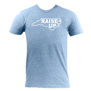 Raise Up Tee - Athletic Blue