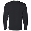 Purdue University Boilermakers Patchwork Cotton Long Sleeve T Shirt - Black