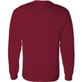 Football Script Indiana Hoosiers Basic Cotton Long Sleeve T-Shirt - Cardinal