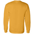 University of Iowa Hawkeyes Arch Logo Basketball Heavy Blend Long Sleeve T Shirt - Gold