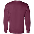 Mississippi State University Bulldogs Basketball Shadow Long Sleeve T Shirt - Maroon