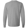 Incline Block Indiana Hoosiers Basic Cotton Long Sleeve T-Shirt - Sport Grey