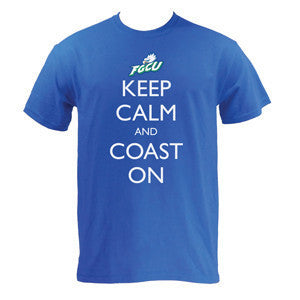 FGCU Keep Calm and Coast On - Royal