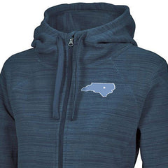 North Carolina Star Heron Hoodie - Blue Steel