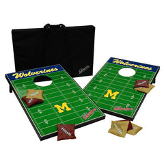 Michigan Tailgate Toss - Navy/Maize