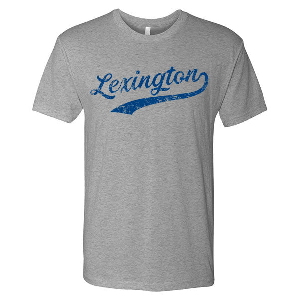 Lexington Baseball Script - Premium Heather