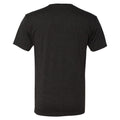 University of Iowa Hawkeyes Basic Block Next Level Short Sleeve T Shirt - Vintage Black