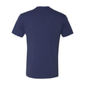 Arch Logo University of Michigan Next Level Triblend Short Sleeve T Shirt - Vintage Navy