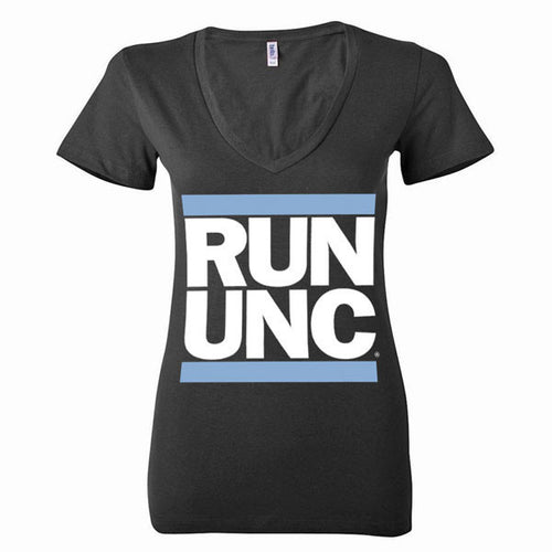 RUN UNC V-Neck - Black