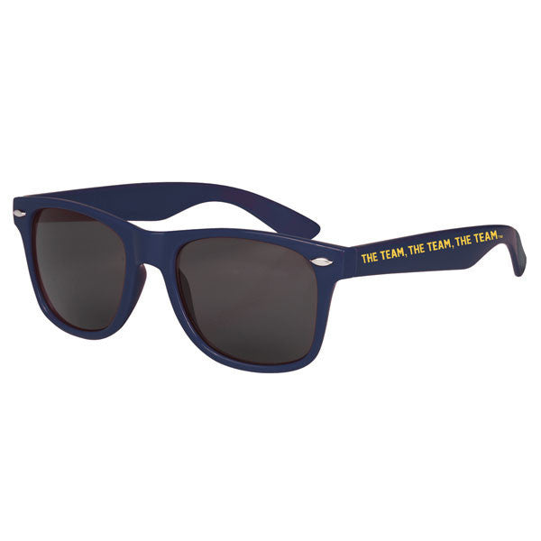 Team Team Team Malibu Sunglasses - Navy