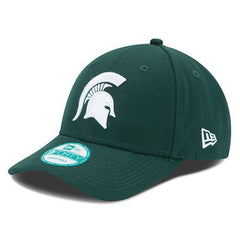 MSU Spartan Logo New Era 9Forty - Forest/White