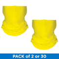 Augusta Sport Wicking Gaiter Face Mask - Power Yellow