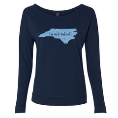 Carolina In My Mind LS Terry Scoopneck - Midnight