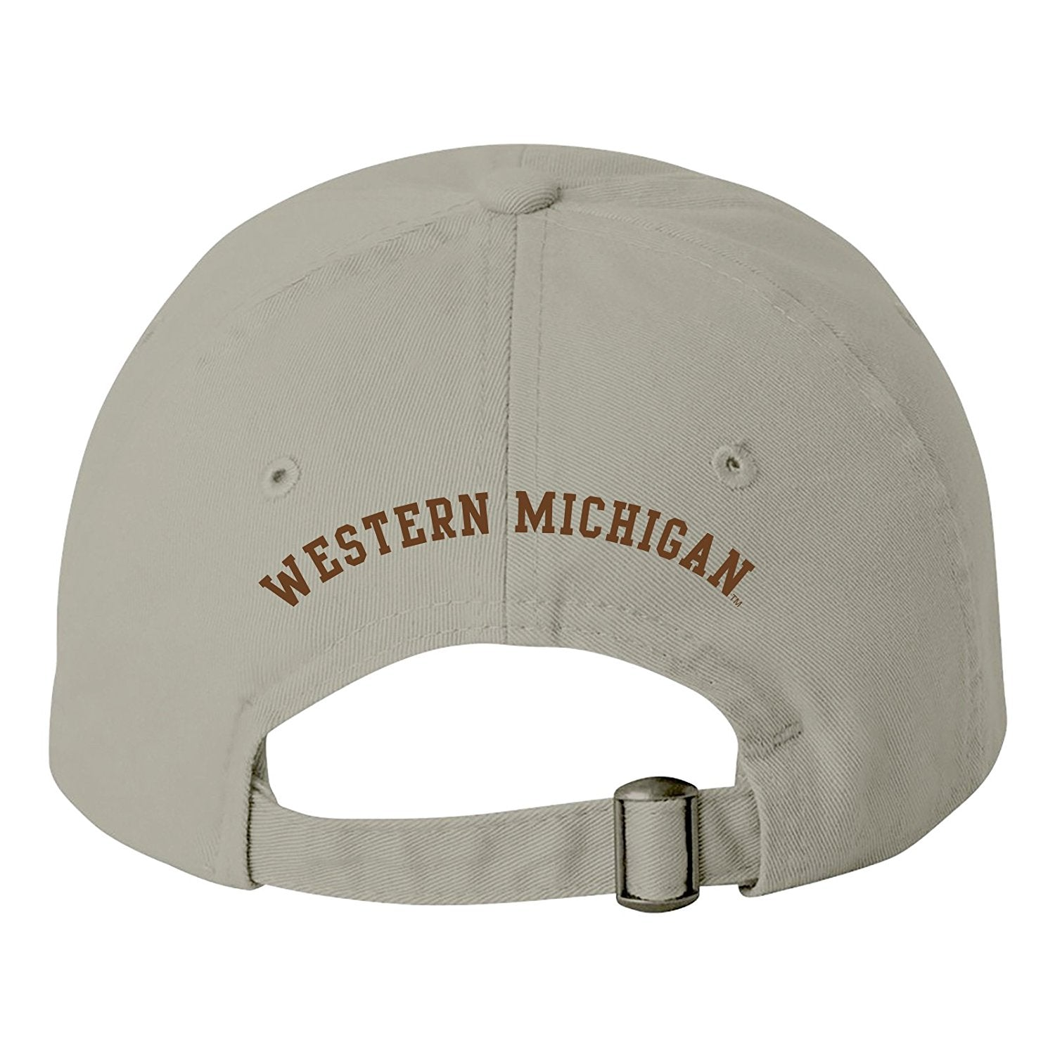 957d6da1 ... reduced western michigan dad hat stone f7429 0c6e9