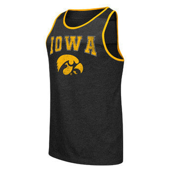 Iowa Backcut Tank - Black